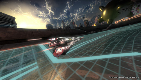 Screenshot of Wipeout 2048