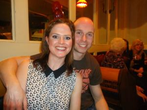 Jen and Arne