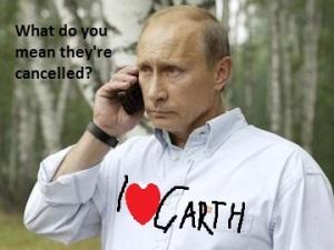 Putin's reportedly a BIG fan of Brooks (image: ndtv.com)